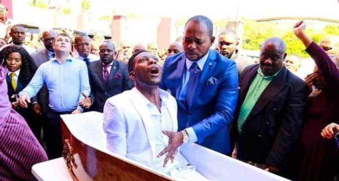 "alph lukau 1 - Man who was ""resurrected"" by controversial South African pastor, Alph Lukau reported dead"