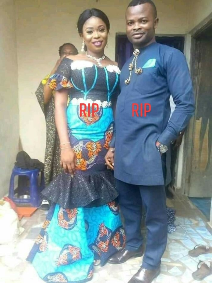 couple die1 - Couple Die Two Weeks To Their Wedding In A Fatal Car Accident