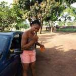 Lady Brushes Teeth With Fanta, Says Those Who Use Water Are Broke
