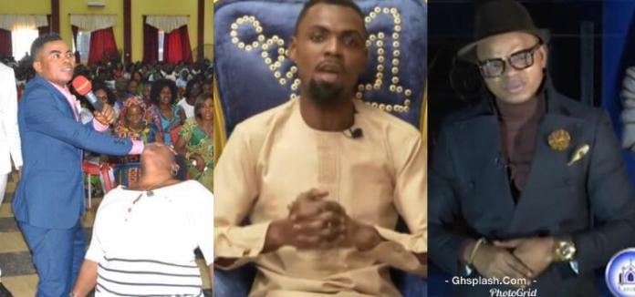 obinim - I Picked You When You Were A Mason And Trained You To Be A Pastor and Even Sponsored Your Wedding-Obinim Reveals As He 'Disowns' His Pastor Who Took Gifts From Rev. Obofour (Video)