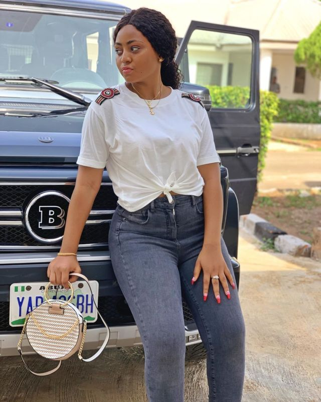 regina daniels benz - Meet the beautiful Moroccan woman who is a co-wife to Regina Daniels (Photos)