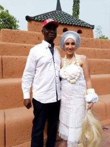 regina daniels - Meet the beautiful Moroccan woman who is a co-wife to Regina Daniels (Photos)
