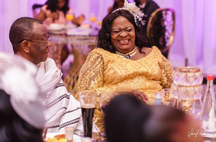 sarkodie and mummy 1 - Sarkodie celebrates mother's 61st birthday with lovely photos and message (PHOTOS)