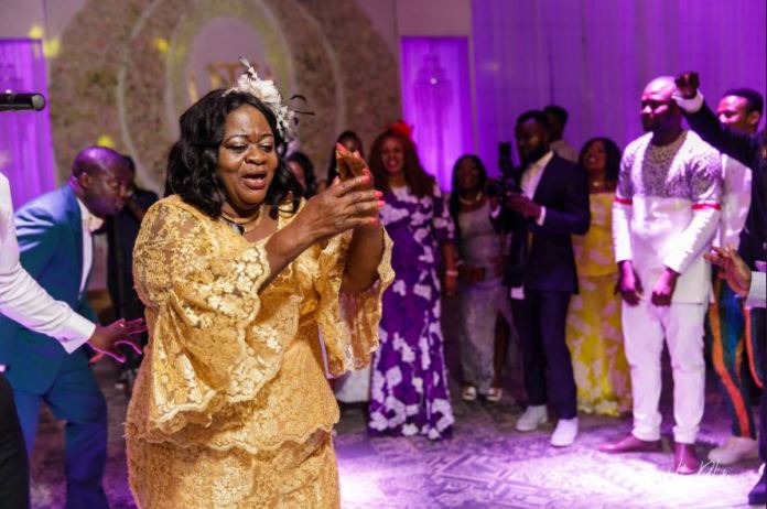 sarkodie and mummy 2 - Sarkodie celebrates mother's 61st birthday with lovely photos and message (PHOTOS)