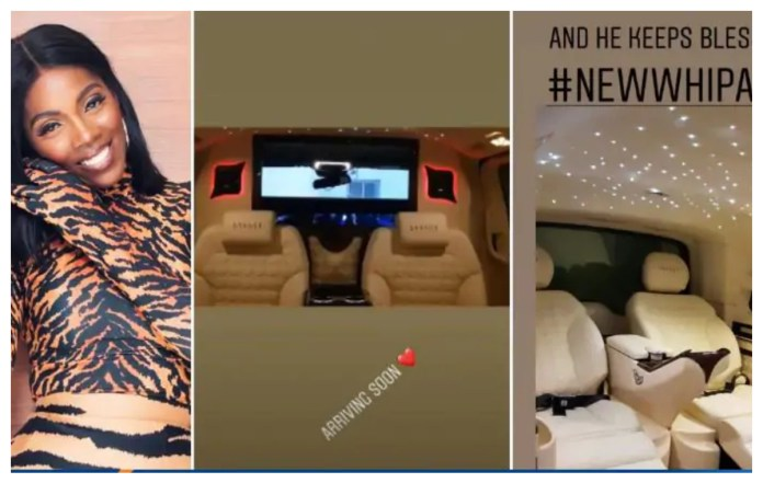 savage 1 - Tiwa Savage Spoils Herself With A Brand New Customized Mercedes Benz v250 Worth ₵863,714