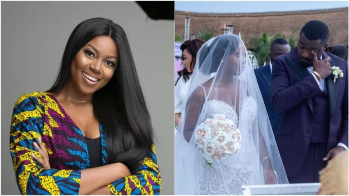 41A6DFED 2EFC 4E1C 87B1 E06A84274317 1024x576 - Yvonne Nelson Did Not Attend John Dumelo's Wedding And This Is The Reason Why