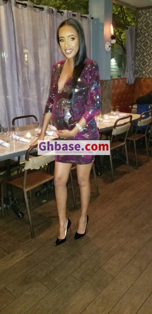 CB729A95 6600 4F09 A74A 31C6DFE00A19 - EXCLUSIVE: Ibrah One And His Beautiful Wife Kadija Are Expecting A Baby Soon As She Is Spotted With Heavy Baby Bump (Photos + Videos)