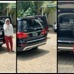 Regina Daniels Is Gifted Another Brand New Car By Mysterious Person (Screenshots)