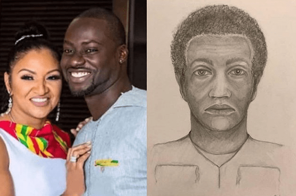 betti - Murder Of Chris Attoh's Wife: US Police Releases Sketch Of Suspect