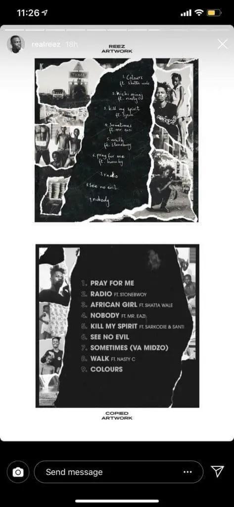 desi - 'Kwesi Arthur Stole My Artwork For His New EP' – Graphic Designer