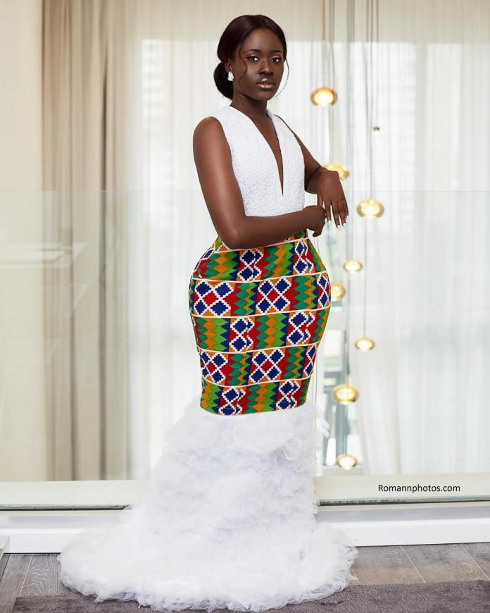 fellamakafui 59618876 455581191912617 6129432468731204216 n - Slayer Of Africa Fashion: Fella Makafui Looks Exquisite As She Rocks African Prints (Photos)