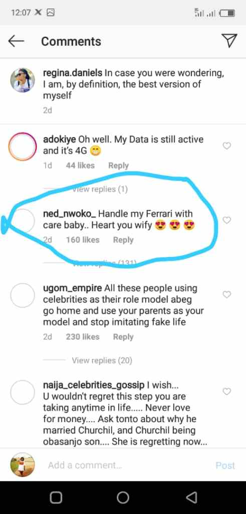 nd - Regina Daniels Is Gifted Another Brand New Car By Mysterious Person (Screenshots)