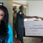 Yvonne Okoro Fulfills Promise To Black Queens By Donating 10,000 Dollars To Support The Team(Pictures+Video)
