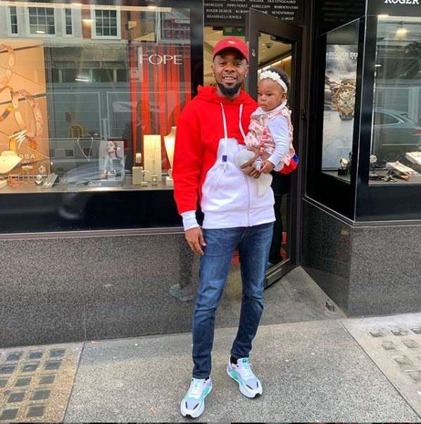 patoranking and daughter - Patoranking To Release New Album Dedicated To His Daughter