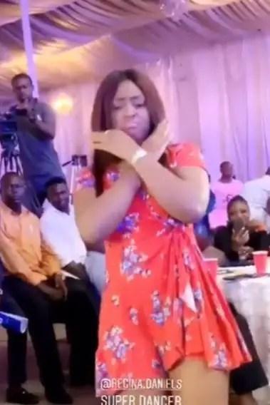 regina - Regina Daniels flaunts baby bump as she dances in new video
