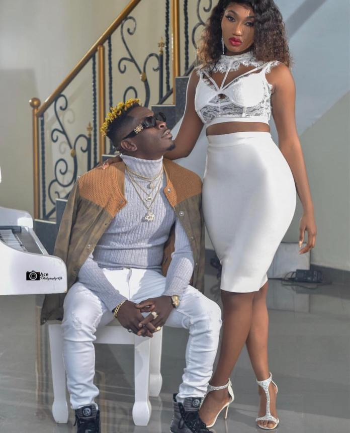wale shay 1 - Love in the air as Shatta Wale proposes marriage to Wendy Shay (Photos + Screenshot)
