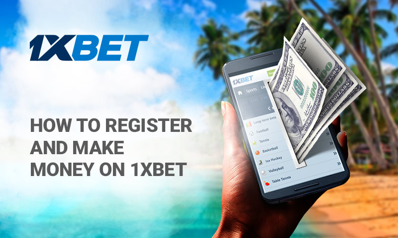 Use 1xBet to Make Money Online Right Now » GhBase•com™