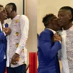 Unseen photos of Blakk Cedi with Shatta Wale's Militants after the Peace Conference