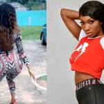 Wendy Shay goes wild, spotted twerking her huge bortos to the camera (Video)