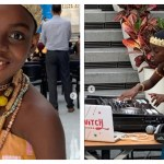 Photos: DJ Switch 'Turns It Up' In The US As She Performs In Beautiful African Costume – PHOTOS
