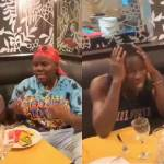 Stonebwoy freaks out after watching Nigeria singer Teni speak 'Patoa' (Video)