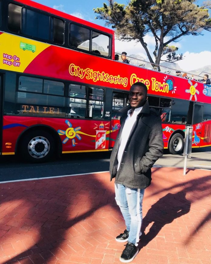 The Blogger, Zionfelix in South Africa