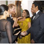 Beyoncé, Jay- Z Meet Prince Harry And Merghan Sussex At 'The Lion King' Premiere- Watch
