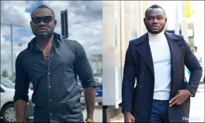 PhotoGrid 1563828234832 e1563828727648 - I once refused to kiss an actress on set because of her bad breath – Prince David Osei reveals (Video)