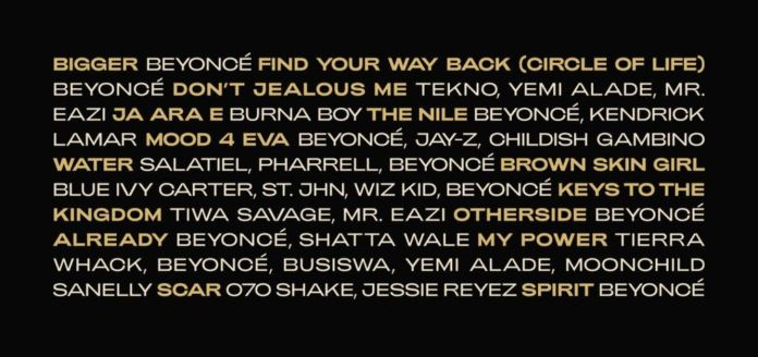 Shatta Wale - Beyoncé Features Shatta Wale & Other African Stars On Lion King Album
