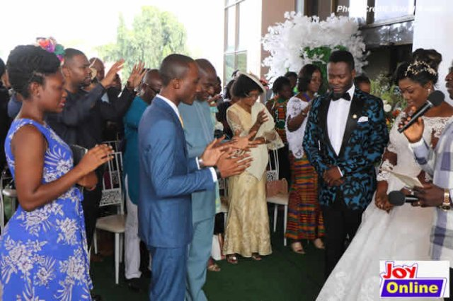 Adjetey Anang & His Wife Of 12 Years Renew Wedding Vows (Photos) 2