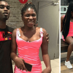 "Photos: Yaa Jackson's ""Skimpy Dress""  & Her Boyfriend At The Premiere Of Baby Mama Movie"