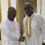 Hollywood Actor, Danny Glover Visits Archbishop Nicholas Duncan-Williams (+Photos)