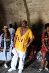 Steven Harvey Almost Breaks Down In Tears After He Visited The Cape Coast Castle