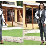 Photos: Berla Mundi Stuns In Corporate Outfit As She Begins Her New Work At TV3
