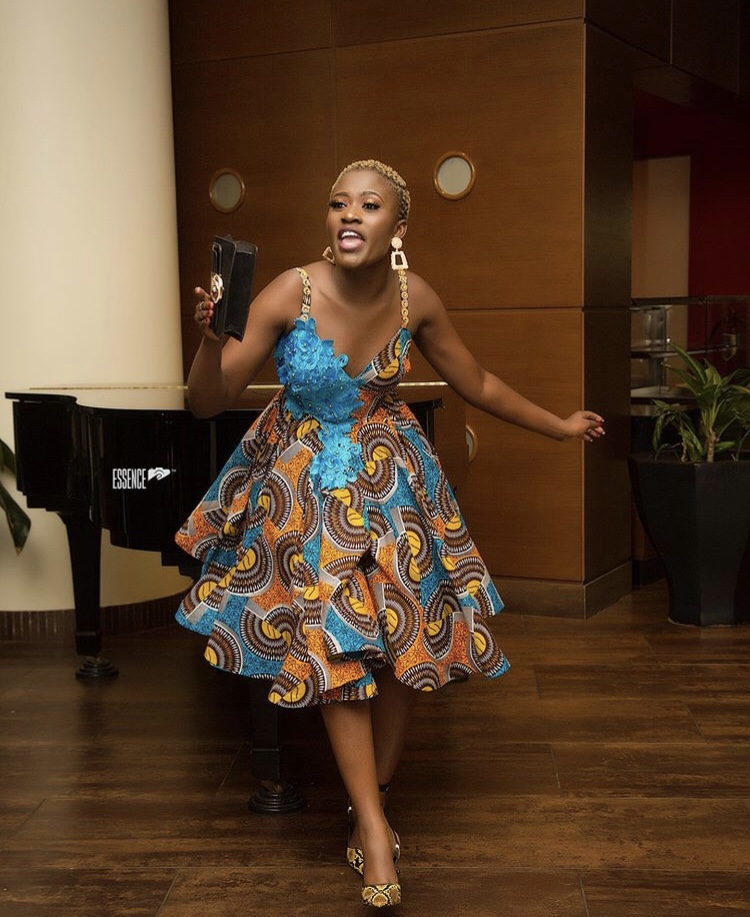 Fella Makafui's outfit to Glitz Awards