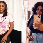 Nana Aba Anamoah joins the list of Ghanaian female celebrities who have acquired and flaunted the new iPhone 11 Pro Max