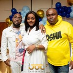 More Photos From Davido And Chioma's Son's Naming Ceremony In London Drop