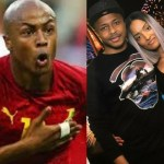Dede Ayew Shares Cute Photo of His Wife As He Wishes Her A Happy Birthday With Sweet Words