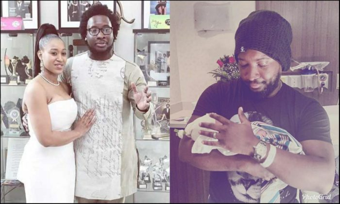 Image result for Sonnie Badu welcome baby number 4