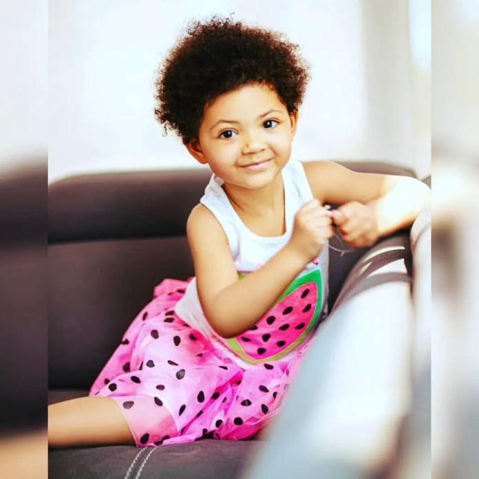 5 New Adorable Photos Of Kafui Danku's 3-Year Old Beautiful Daughter; Lorde.  » GhBase•com™