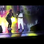 Fan Of Stonebwoy Splashes Money On Him During His Performance At Pae Mu Ka Concert