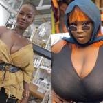 Has Maame Serwaa now taken over Pamela Odame's position for the 'Breastina' tag? (+Photos)