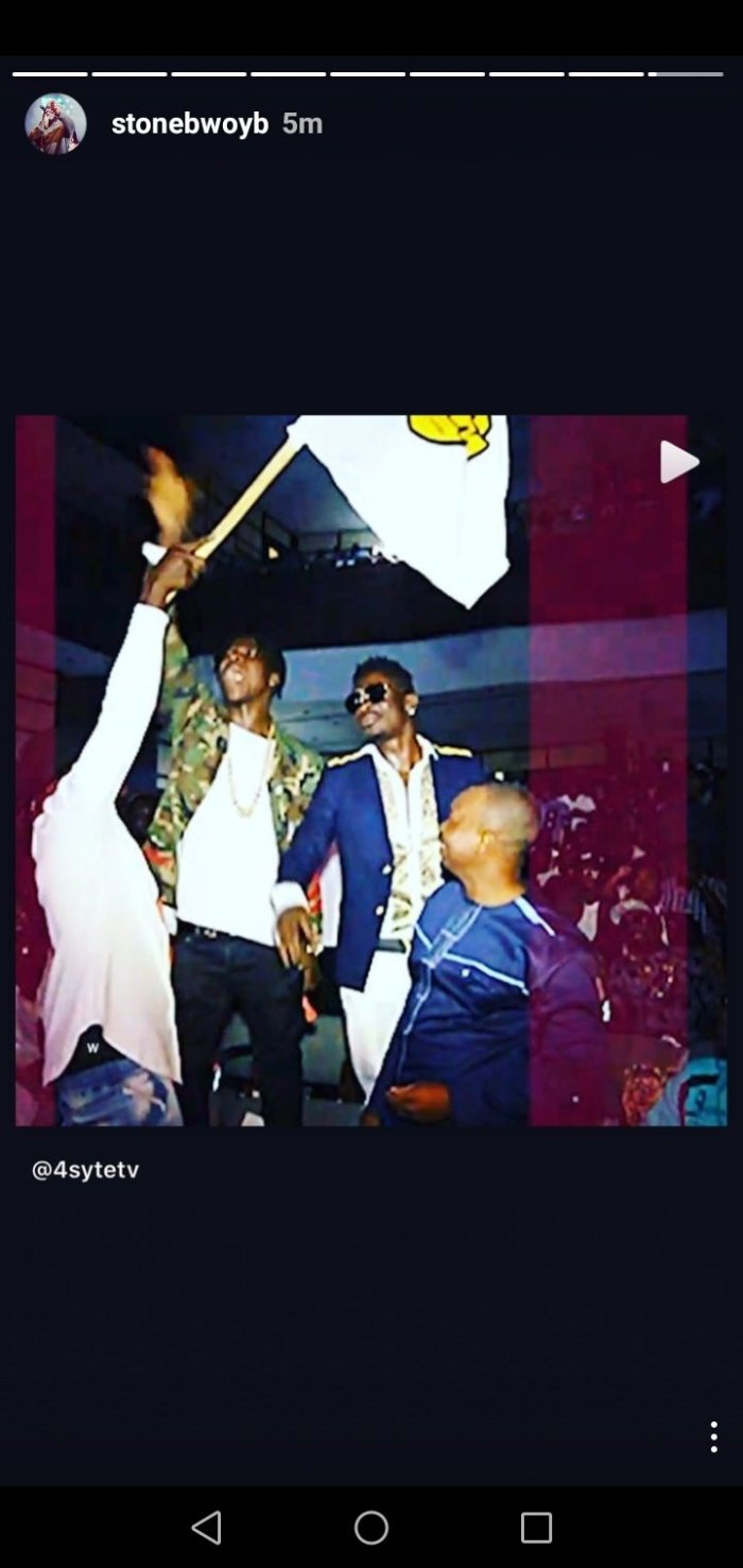 """We've Come From Far"" - Stonebwoy Shares Throwback Video Of Himself And Shatta Wale Hanging Out - EOnlineGH.Com"