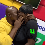 Bukom Banku Kisses His New 22Yr Old Girlfriend Passionately During Live Interview On Radio (+Video)