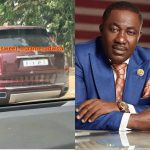 Osei Kwame Despite Spotted Riding His Rolls Royce In Town- Photo
