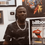 Stonebwoy Becomes First Ghanaian Musician To Get A Billboard Plaque