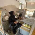 Davido Flies Wife & Child In Private Jet To Dubai To Attend Brother's Wedding