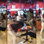 Video: Man Angrily Takes Off Girlfriend's Shoes, Food & All That He Bought For Her At Restaurant After She Said 'No' To His Proposal