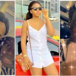 Regina Daniels celebrates little sister on her birthday, gifts her iPhone 11 pro