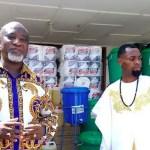 Photos: Rev Obofour donates GH¢100,000 and items to Tema General Hospital